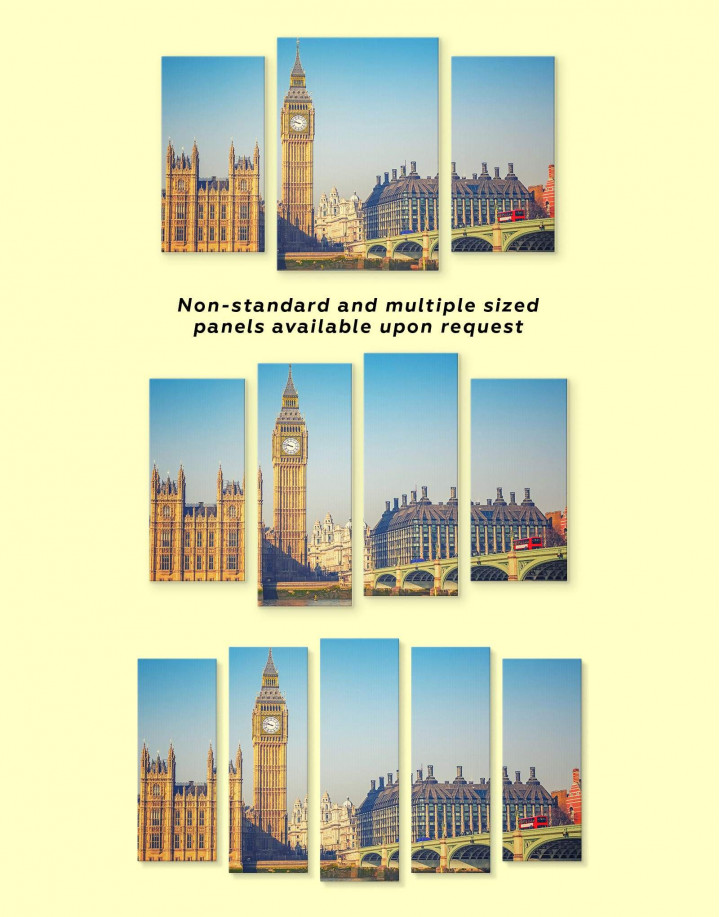 London Great Britain Capital Canvas Wall Art - Image 3