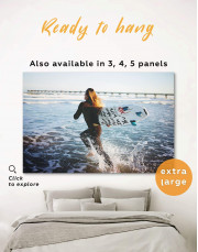 Surfboard Canvas Wall Art - Image 0