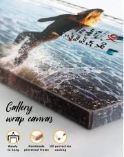 Surfboard Canvas Wall Art - Image 4