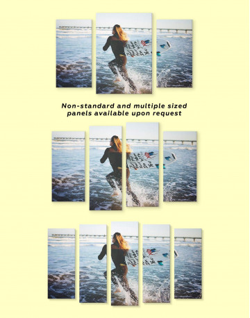 Surfboard Canvas Wall Art - image 2