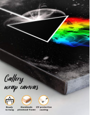 Pink Floyd Dark Side of the Moon Canvas Wall Art - Image 1