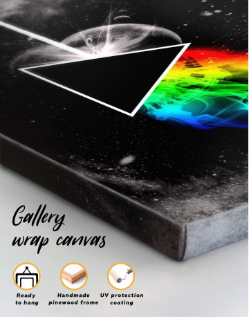 Pink Floyd Dark Side of the Moon Canvas Wall Art - image 4