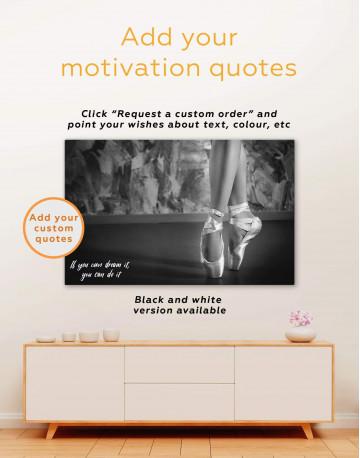 Ballerina Canvas Wall Art - image 1
