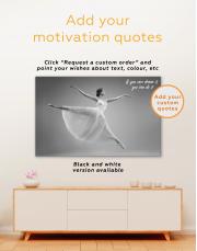 Ballet Dancer Ballerina Canvas Wall Art - Image 3