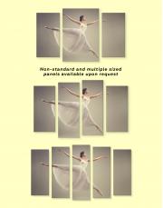 Ballet Dancer Ballerina Canvas Wall Art - Image 2