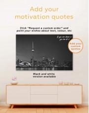 Toronto Skyline Canvas Wall Art - Image 1