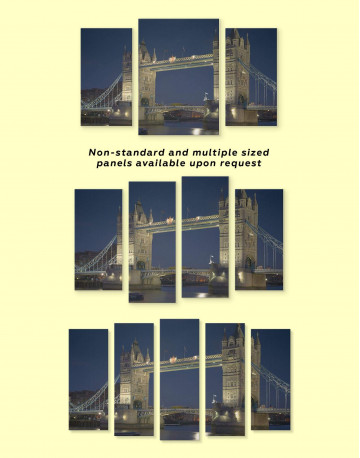 Tower Bridge London Canvas Wall Art - image 2