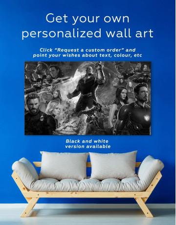 Avengers Infinity War Canvas Wall Art - image 5