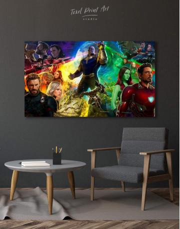 Avengers Infinity War Canvas Wall Art