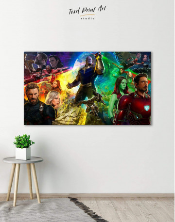 Avengers Infinity War Canvas Wall Art - image 1