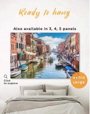 Venice Skyline Canvas Wall Art - Image 0