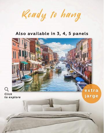 Venice Skyline Canvas Wall Art