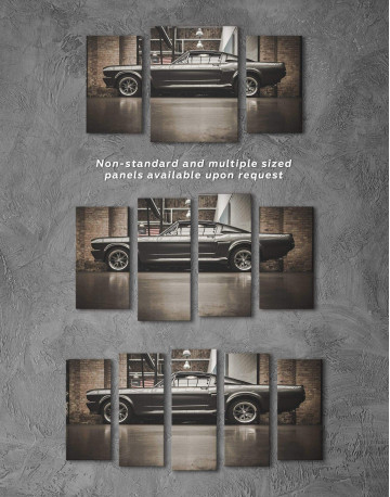 Ford Mustang GT 500 Canvas Wall Art - image 5