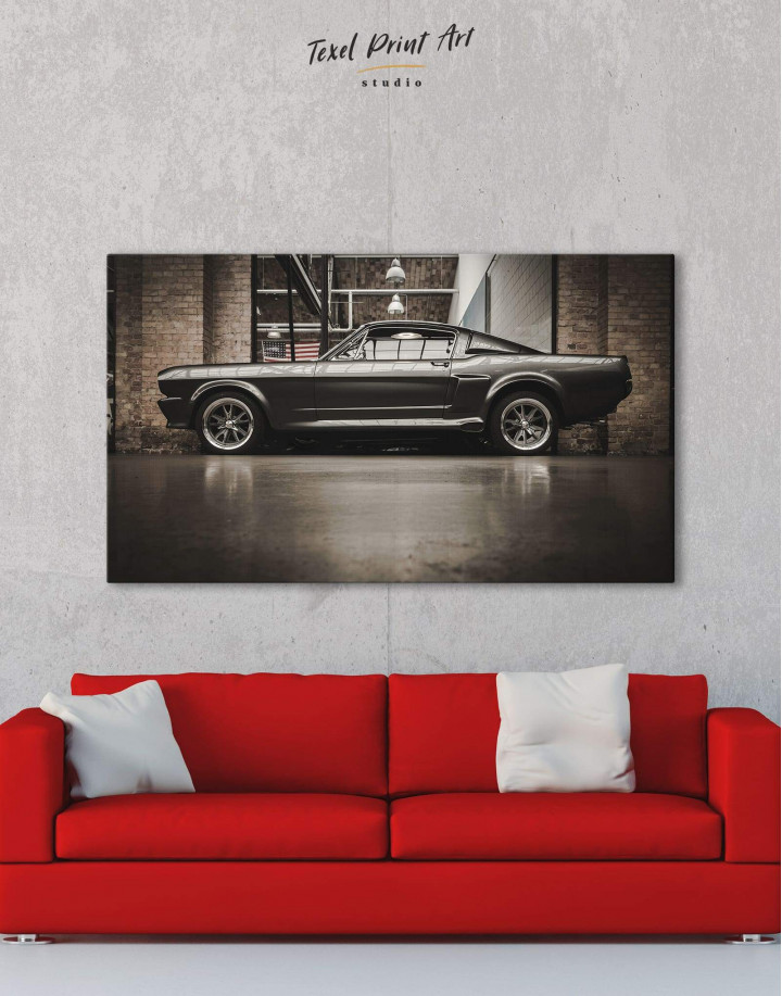Ford Mustang GT 500 Canvas Wall Art - Image 0