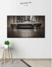 Ford Mustang GT 500 Canvas Wall Art - Image 1