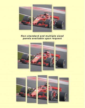 Formula 1 Bolid Canvas Wall Art - image 3