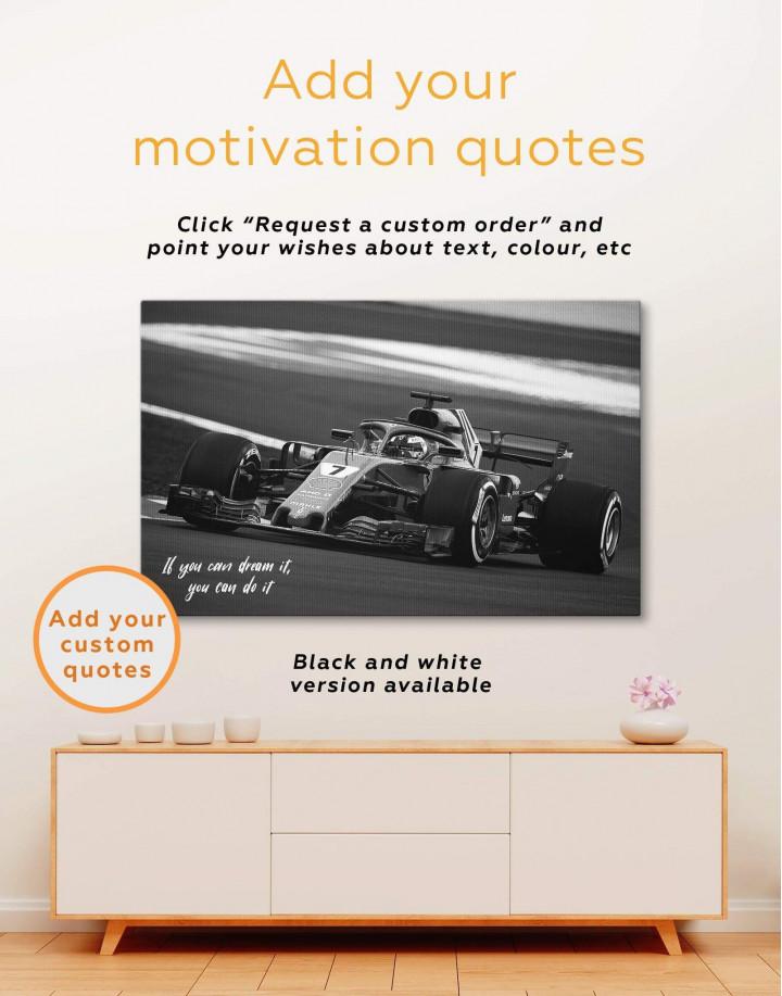 Formula 1 Bolid Canvas Wall Art - Image 4