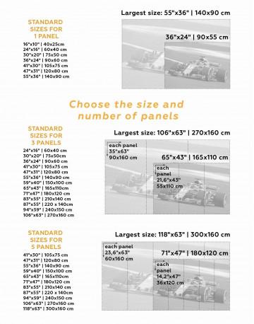 Formula 1 Bolid Canvas Wall Art - image 2