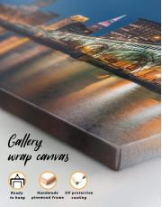 Cleveland Skyline Canvas Wall Art - Image 4