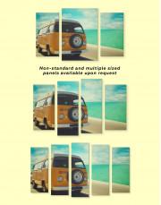 Camper Van Canvas Wall Art - Image 2