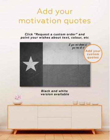 Texas Flag Canvas Wall Art - image 1