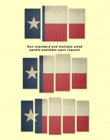 Texas Flag Canvas Wall Art - image 2
