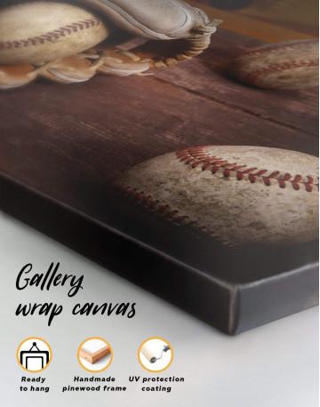 Baseball Game Canvas Wall Art - image 1