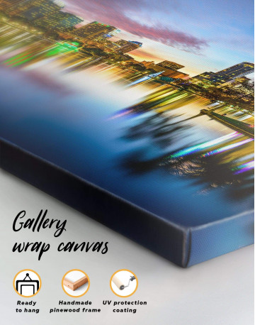 Orlando Skyline Canvas Wall Art - image 1