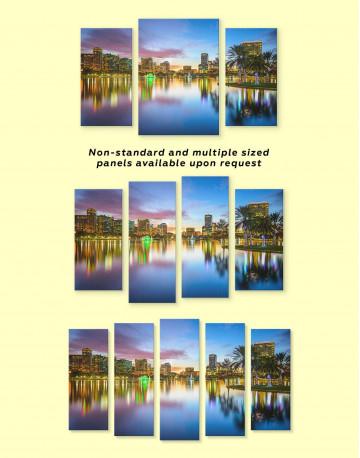 Orlando Skyline Canvas Wall Art - image 3