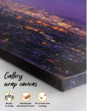 Night Phoenix Cityscape Canvas Wall Art - Image 4