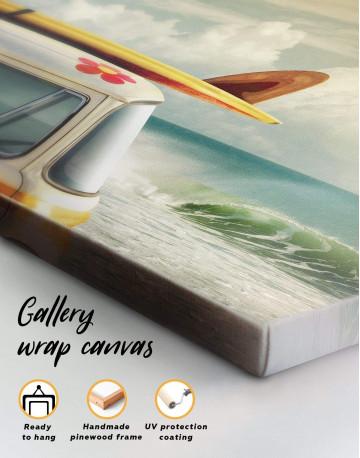Van by the Seaside Canvas Wall Art - image 1