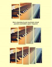 Piano Music Canvas Wall Art - image 3