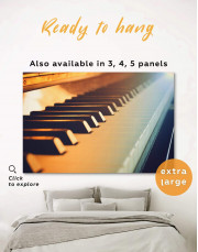 Piano Music Canvas Wall Art - Image 0