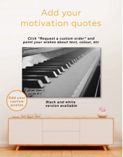 Piano Music Canvas Wall Art - Image 4