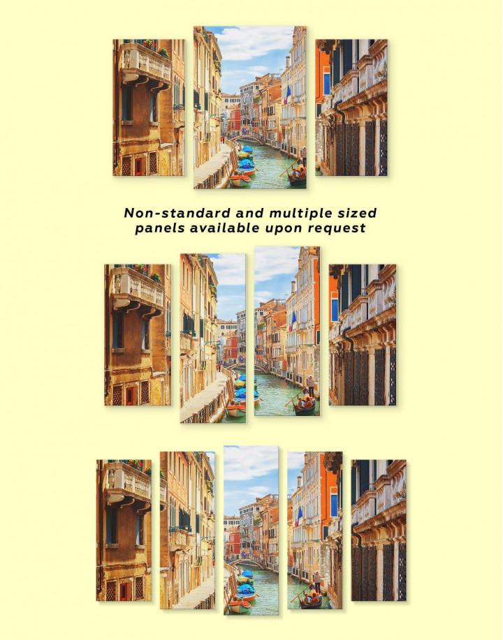 Venice Cityscape Canvas Wall Art - Image 2