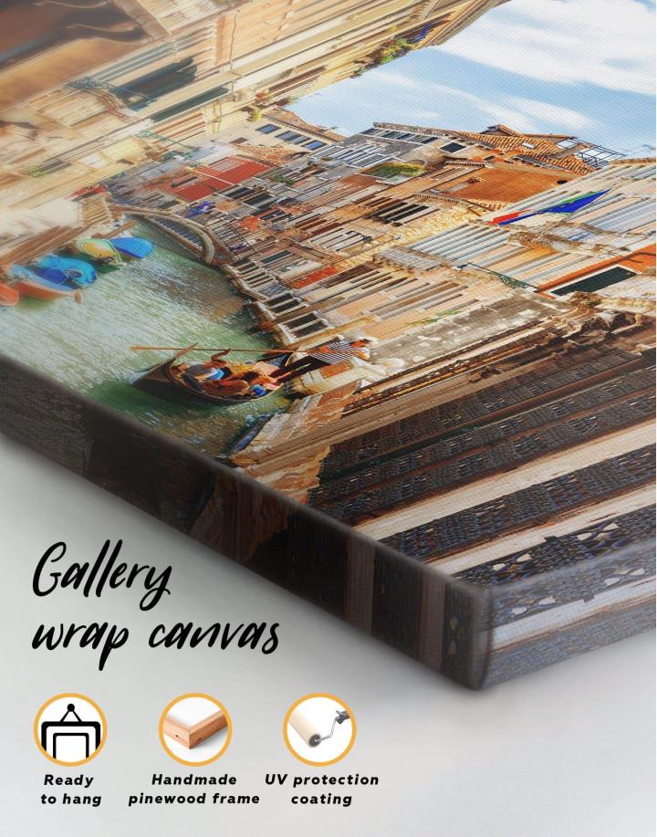 Venice Cityscape Canvas Wall Art - Image 4