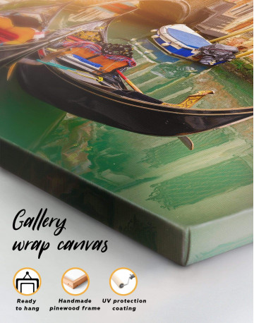 Venice Gondola Canvas Wall Art - image 1