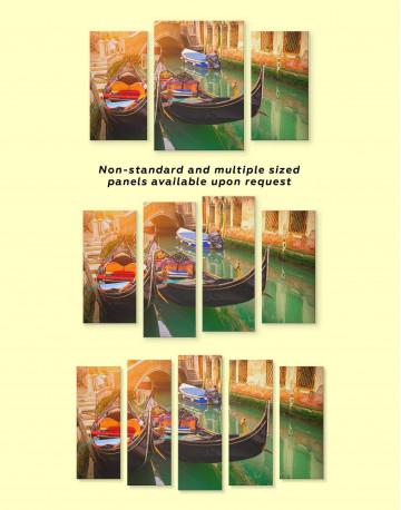 Venice Gondola Canvas Wall Art - image 3