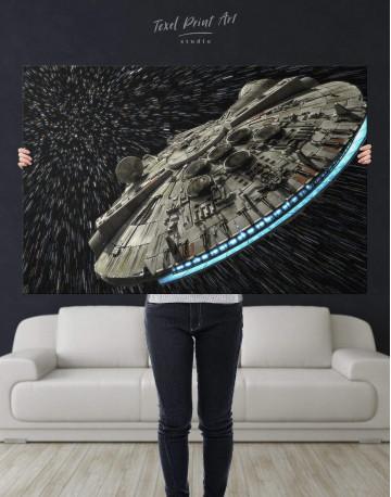 Millennium Falcon Canvas Wall Art - image 2