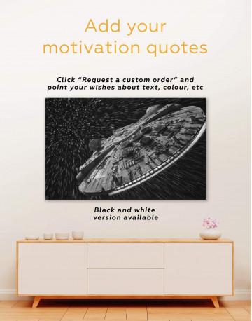 Millennium Falcon Canvas Wall Art - image 6