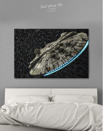 Millennium Falcon Canvas Wall Art - image 1