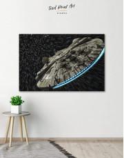 Millennium Falcon Canvas Wall Art - Image 0