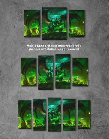 Illidan World of Warcraft Canvas Wall Art - image 5