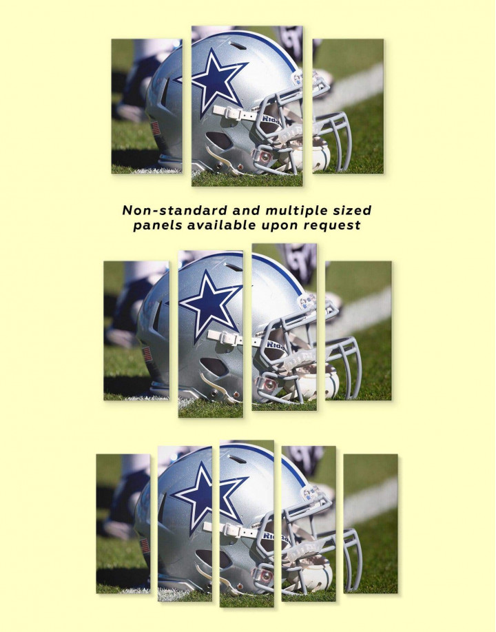 Dallas Cowboys Canvas Wall Art - Image 2