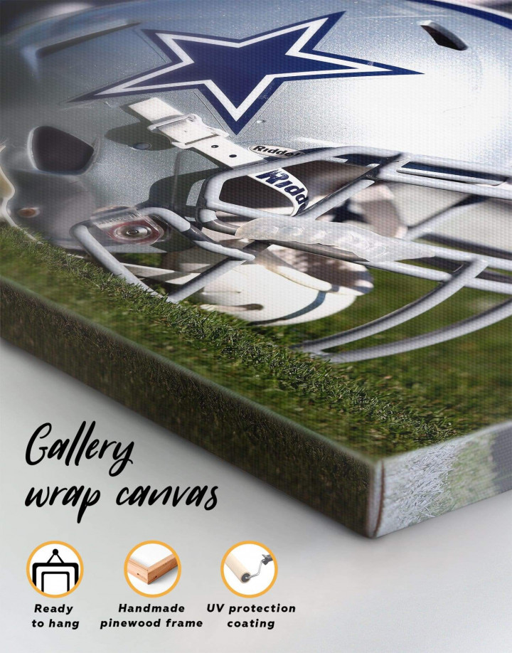 Dallas Cowboys Canvas Wall Art - Image 4