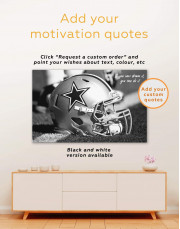 Dallas Cowboys Canvas Wall Art - Image 1