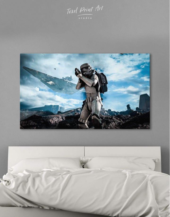 Storm Trooper Star Wars Canvas Wall Art - image 5