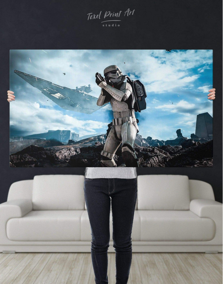 Storm Trooper Star Wars Canvas Wall Art - Image 4