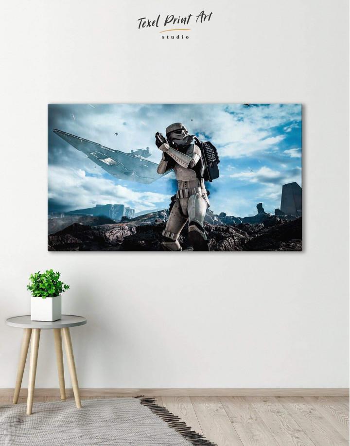 Storm Trooper Star Wars Canvas Wall Art - Image 0