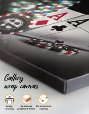 Poker Set Canvas Wall Art - Image 4